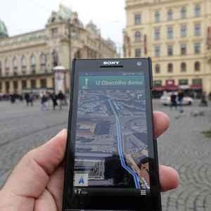 برنامج خرائط جوجل في مدينة براج