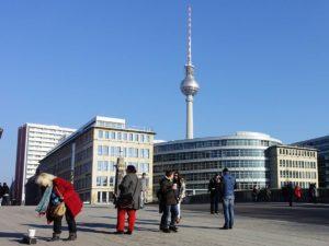 برج التليفزيون ببرلين